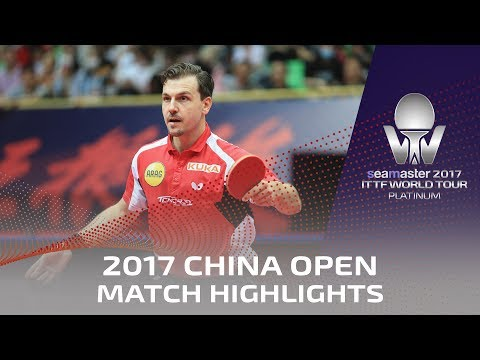 2017 China Open | Highlights Dimitrij Ovtcharov vs Timo Boll (Final)