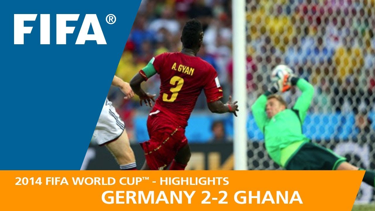 GERMANY v GHANA (2 2) - 2014 FIFA World Cup™ - YouTube 102a16eca
