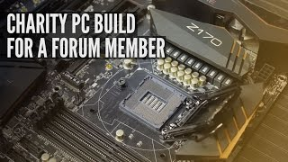 PC Build | Linux/Windows Charity Build for a Disabled Member
