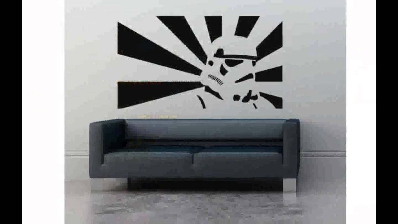 Star Wars Wall Stickers   YouTube