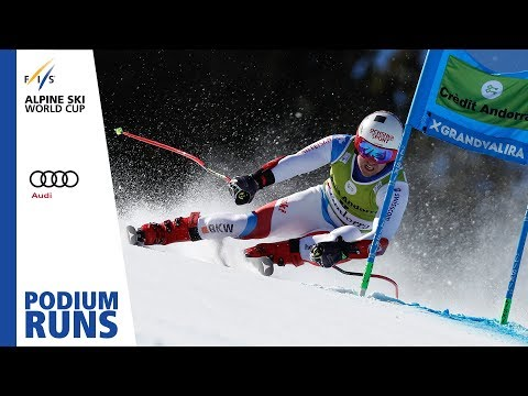 Mauro Caviezel | Men's Super-G | Soldeu | Finals | 2nd place | FIS Alpine