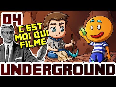 Minecraft Underground #4 C'est moi qui filme stp...
