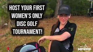 WGE 2021 | Women's Only Disc Golf Tournament | Sierra Buford on Why Disc Golf?