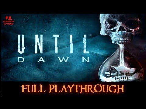 Until Dawn | Full Playthrough | Longplay Gameplay Walkthrough No Commentary