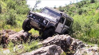 Land Rover Defender 90 V8 - 38,5''   **OFF ROAD EXTREME**