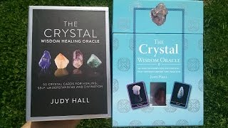 Crystal Wisdom Healing Oracle Deck VS Crystal Wisdom Oracle Review