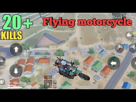 Is Levinho A HACKER?? | Flying Bike | PUBG MOBILE