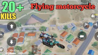 Is Levinho a HACKER?? | Flying Bike | PUBG MOBILE