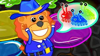 Lion Family | Story About Professions | Cartoon for Kids