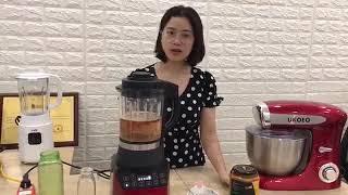 Sữa hạt kê, mè - thịt hạt gấc tốt cho sức khỏe - Bếp Mẹ Tôm
