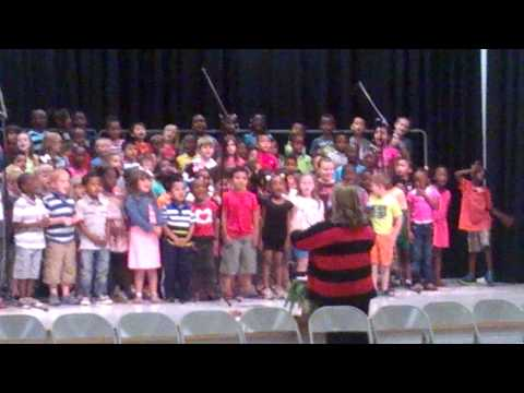Homeland Park Primary kids sing The World is a Rai