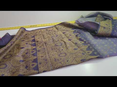 Using a vintage Sari to make a Byzantine-style tunic for SCA