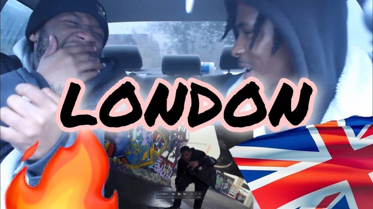 Download AMERICANS REACT to AJ x Deno ft EO - London [Music Video]