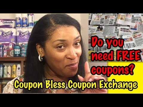❤️Coupon Bless Coupon Exchange- FREE COUPONS FOR YOU!!