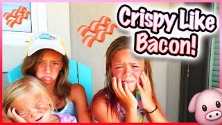 does sunscreen really work crispy bacon face   smelly belly tv vlogs