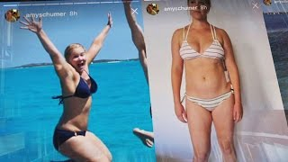 Amy Schumer Hits Back at Critics by Posting Series of Bikini Pics