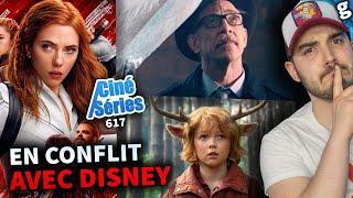 Scarlett Johansson poursuit DISNEY 💥 Gros RETOUR casting BATGIRL ! Série WATERWORLD et bien +