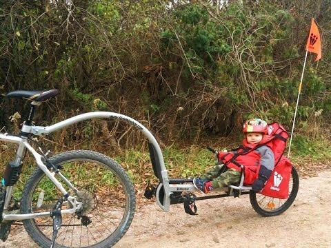 WeeHoo Bike Trailer REVIEW