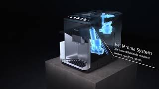 Siemens EQ.500 espressovolautomaat: De perfectie koffie in een handomdraai