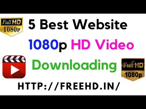 5 Best Website 1080p HD Video Songs Downloading.