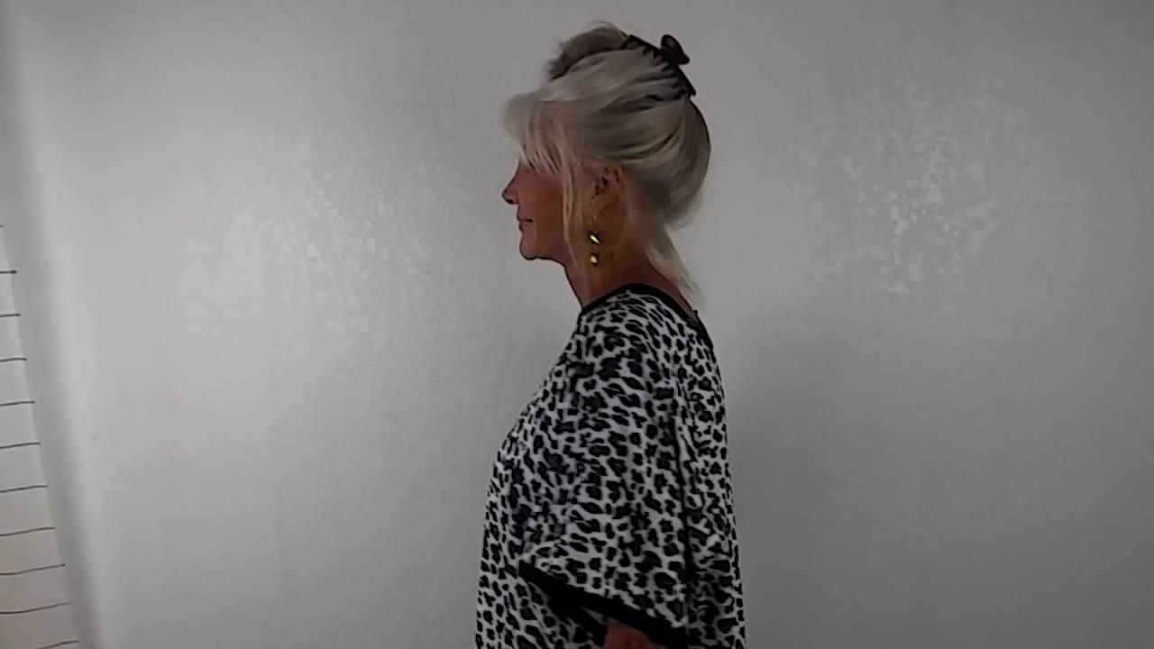 Cheetah Cheetah hospital gown from Silver Moon Bay - YouTube
