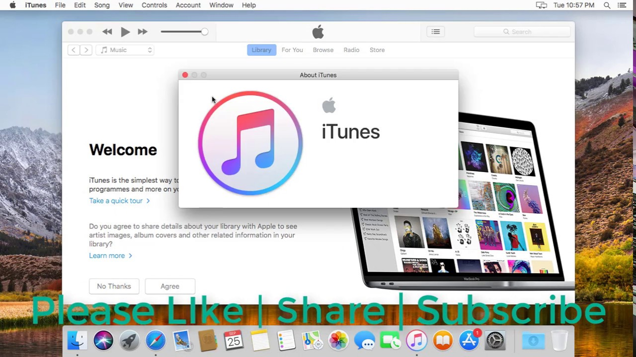 How to Update iTunes 12.8 on Mac (Tutorial) - YouTube