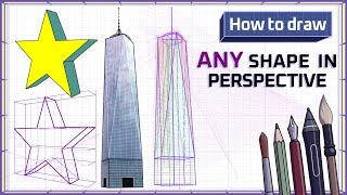 How to draw ARBITRARY SHAPES - Mink