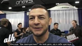 Звезды UFC о самых глупых вещах которые они слышат от людей, когда говорят, что они бойцы MMAUFC