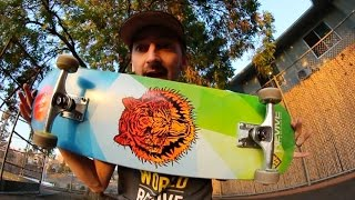 AARON SETS UP HIS NEW PRO MODEL BOARD!