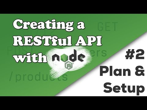 Planning & First Steps | Creating a REST...