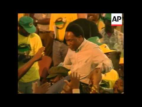 SOUTH AFRICA: ANC CONGRESS CHOSE MBEKI AS DEPUTY PRESIDENT