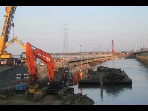 Time-Lapse Example: Loughor Viaduct Replacement