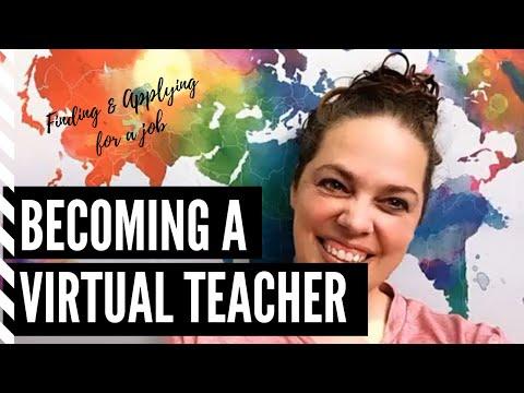 Finding a Virtual Teaching Job: Applying to be a virtual school teacher (Cyberschool, online school)