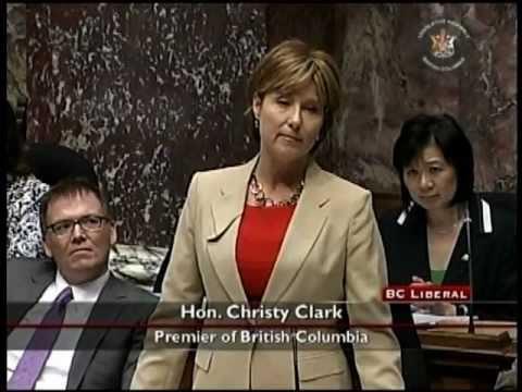 June 1, 2011 BC Legislature Question Period