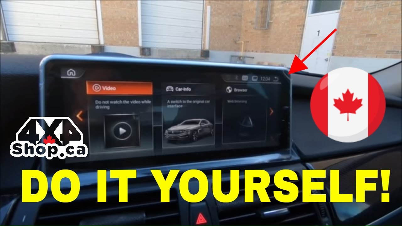 Diy How To Install 1025 Android Screen Bmw X5 X6 E70 E71 With Cic Wiring Diagrams Connection