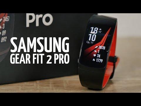 Обзор Samsung Gear Fit 2 Pro - топовый фитнес трекер
