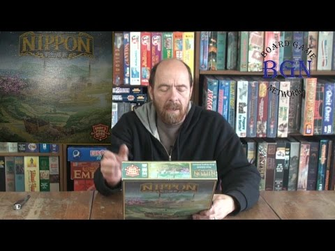 Nippon Board Game unboxing
