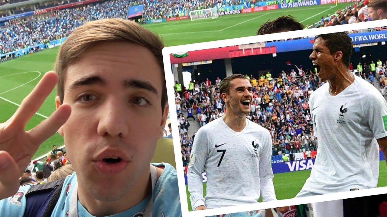 Uruguay vs Francia 0-2 REACCIONES DE UN HINCHA EN RUSIA MUNDIAL 2018
