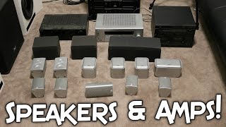 TONS OF SPEAKERS TO BLOW UP & AMPLIFIERS!