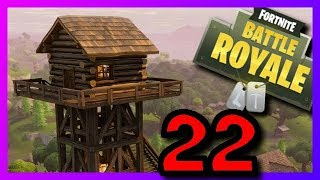 FORTNITE - BATTLE ROYALE | Place #3 despite bugs ! | Episode 22 | German