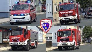 🚒 MZF + LF 16/20 + DLK 23/12 + TLF 3000 + GW-L 2 Feuerwehr Bad Steben