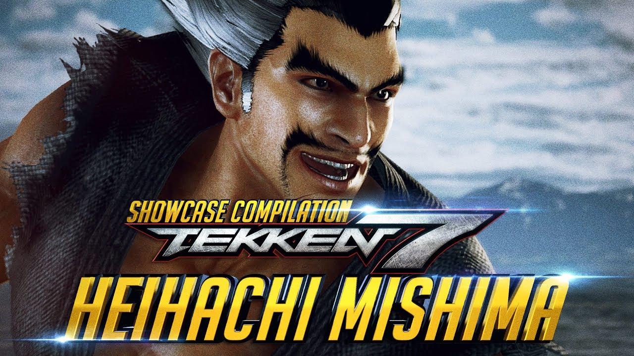Tekken 7 Heihachi Mishima Story Outfit Showcase Collection Intro Win Poses Rage Art Scenes Youtube