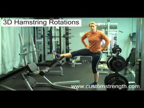 Ottawa Personal Trainer: 3D Hamstring Rotations Stretch