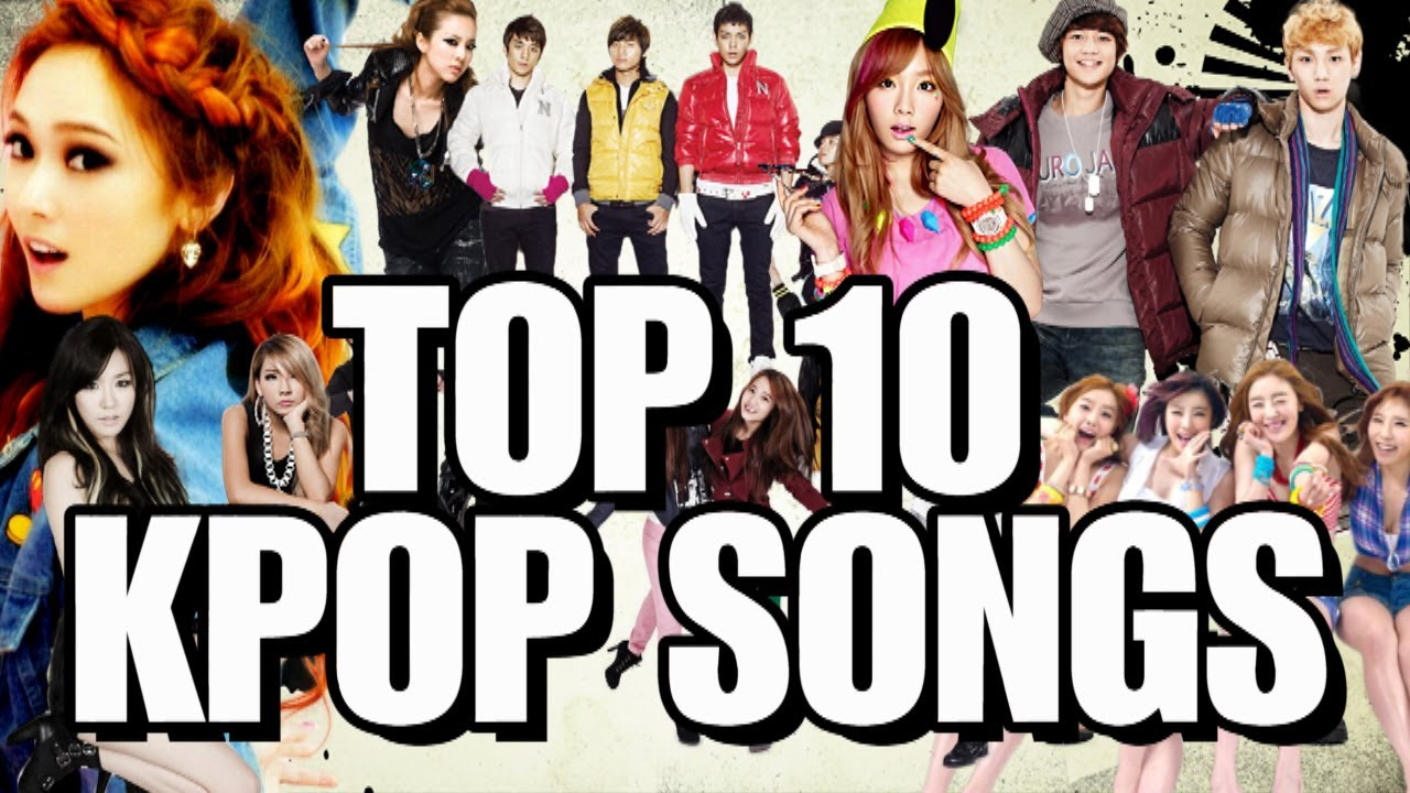 Top 10 Iconic K-Pop Songs - YouTube