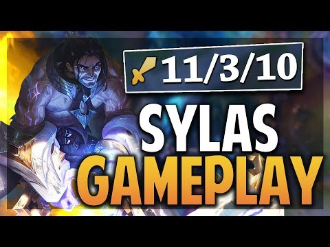 ¡SYLAS GAMEPLAY! | TENGO TODAS LAS ULTIMATES! | League of Legends thumbnail