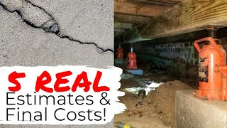 1 000 45 000 Or More How Much Do Foundation Repairs Cost MP3