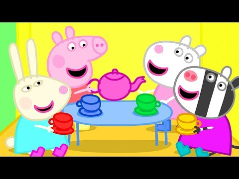 Peppa Pig is Having a Tea Party in Her Tree House | Peppa Pig Official Channel