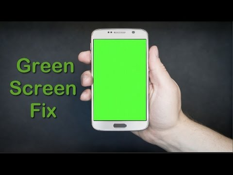 webcam green screen how to fix