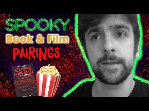 Spooky Book & Film Pairings w/ Adam Cesare! | Clown in a Cornfield