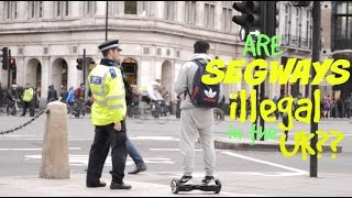 Are Swegway Air-Boards Illegal? (Social Experiment)